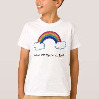 Roy G. Biv Kids Shirt