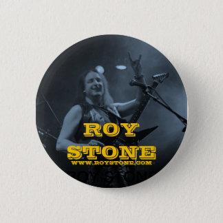 ROY STONE LIVE BLACK & WHITE BADGE 2 INCH ROUND BUTTON