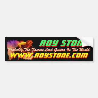 ROY STONE LIVE PIC STICKER