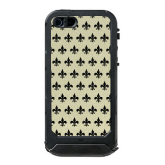 ROYAL1 BLACK MARBLE & BEIGE LINEN INCIPIO ATLAS ID™ iPhone 5 CASE