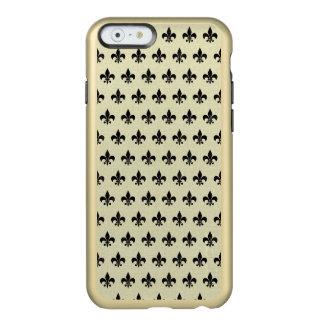 ROYAL1 BLACK MARBLE & BEIGE LINEN INCIPIO FEATHER® SHINE iPhone 6 CASE