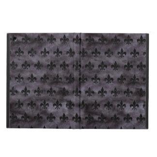 ROYAL1 BLACK MARBLE & BLACK WATERCOLOR COVER FOR iPad AIR