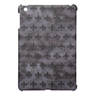 ROYAL1 BLACK MARBLE & BLACK WATERCOLOR iPad MINI COVER