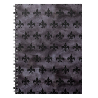 ROYAL1 BLACK MARBLE & BLACK WATERCOLOR NOTEBOOKS