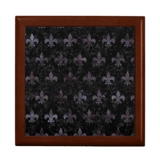 ROYAL1 BLACK MARBLE & BLACK WATERCOLOR (R) GIFT BOX