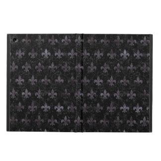 ROYAL1 BLACK MARBLE & BLACK WATERCOLOR (R) iPad AIR COVER