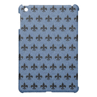 ROYAL1 BLACK MARBLE & BLUE DENIM iPad MINI CASE