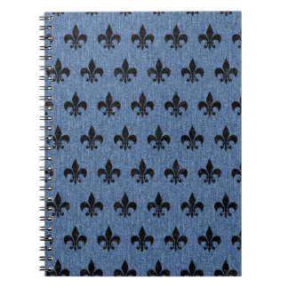 ROYAL1 BLACK MARBLE & BLUE DENIM NOTEBOOKS