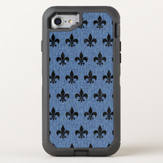 ROYAL1 BLACK MARBLE & BLUE DENIM OtterBox DEFENDER iPhone 8/7 CASE