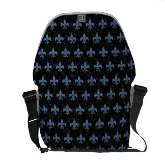 ROYAL1 BLACK MARBLE & BLUE DENIM (R) COMMUTER BAG