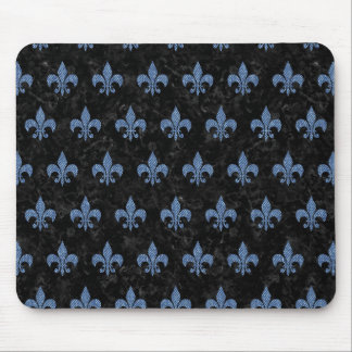 ROYAL1 BLACK MARBLE & BLUE DENIM (R) MOUSE PAD