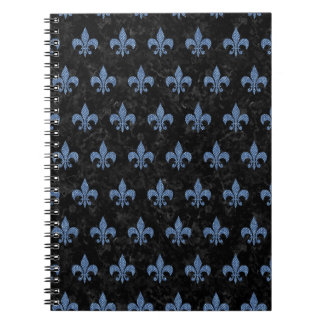 ROYAL1 BLACK MARBLE & BLUE DENIM (R) NOTEBOOKS