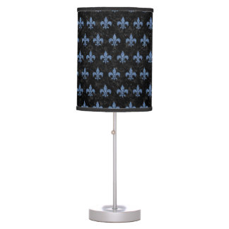 ROYAL1 BLACK MARBLE & BLUE DENIM (R) TABLE LAMP