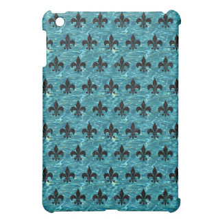 ROYAL1 BLACK MARBLE & BLUE-GREEN WATER iPad MINI CASE