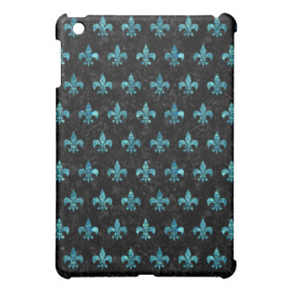 ROYAL1 BLACK MARBLE & BLUE-GREEN WATER (R) iPad MINI COVER