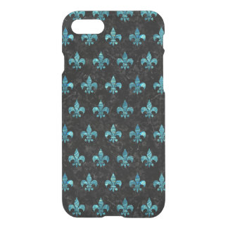 ROYAL1 BLACK MARBLE & BLUE-GREEN WATER (R) iPhone 8/7 CASE