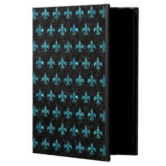ROYAL1 BLACK MARBLE & BLUE-GREEN WATER (R) POWIS iPad AIR 2 CASE