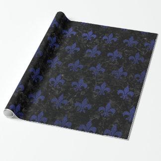 ROYAL1 BLACK MARBLE & BLUE LEATHER (R)