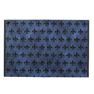 ROYAL1 BLACK MARBLE & BLUE STONE CASE FOR iPad AIR