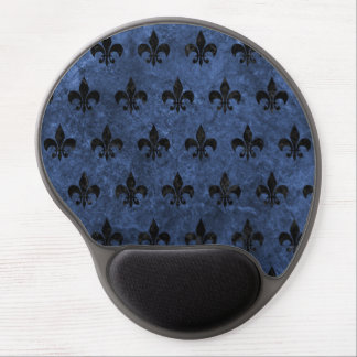 ROYAL1 BLACK MARBLE & BLUE STONE GEL MOUSE PAD
