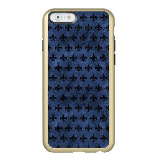 ROYAL1 BLACK MARBLE & BLUE STONE INCIPIO FEATHER® SHINE iPhone 6 CASE
