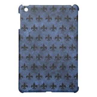 ROYAL1 BLACK MARBLE & BLUE STONE iPad MINI CASES