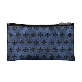 ROYAL1 BLACK MARBLE & BLUE STONE MAKEUP BAG