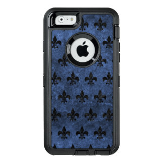 ROYAL1 BLACK MARBLE & BLUE STONE OtterBox iPhone 6/6S CASE
