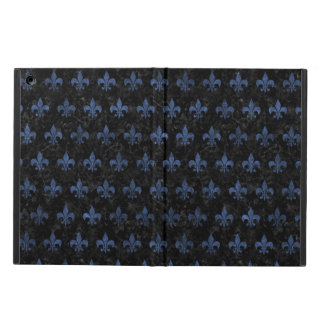 ROYAL1 BLACK MARBLE & BLUE STONE (R) COVER FOR iPad AIR