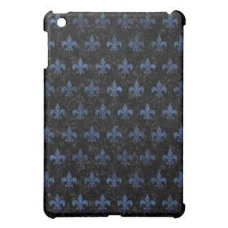 ROYAL1 BLACK MARBLE & BLUE STONE (R) COVER FOR THE iPad MINI
