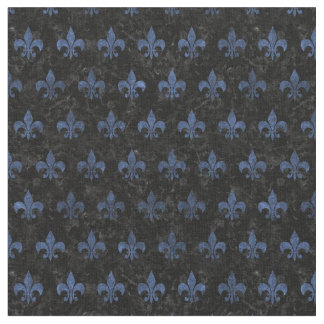 ROYAL1 BLACK MARBLE & BLUE STONE (R) FABRIC