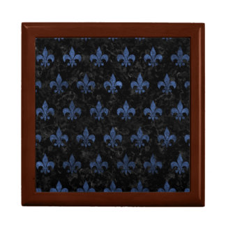 ROYAL1 BLACK MARBLE & BLUE STONE (R) GIFT BOX