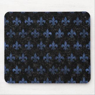 ROYAL1 BLACK MARBLE & BLUE STONE (R) MOUSE PAD