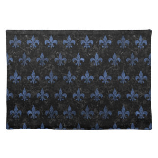 ROYAL1 BLACK MARBLE & BLUE STONE (R) PLACEMAT