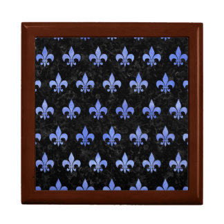 ROYAL1 BLACK MARBLE & BLUE WATERCOLOR (R) GIFT BOX