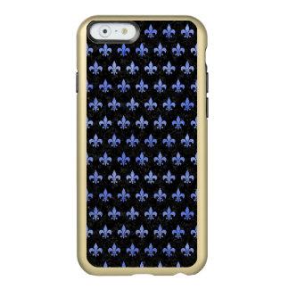 ROYAL1 BLACK MARBLE & BLUE WATERCOLOR (R) INCIPIO FEATHER® SHINE iPhone 6 CASE