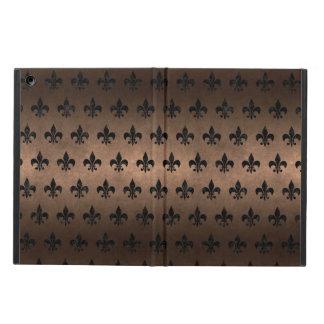 ROYAL1 BLACK MARBLE & BRONZE METAL iPad AIR CASE