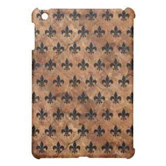 ROYAL1 BLACK MARBLE & BROWN STONE COVER FOR THE iPad MINI