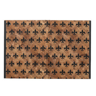 ROYAL1 BLACK MARBLE & BROWN STONE iPad AIR CASE