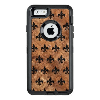 ROYAL1 BLACK MARBLE & BROWN STONE OtterBox iPhone 6/6S CASE