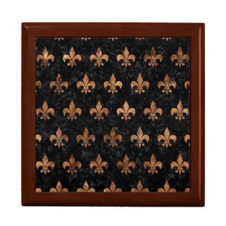 ROYAL1 BLACK MARBLE & BROWN STONE (R) GIFT BOX