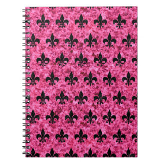ROYAL1 BLACK MARBLE & PINK MARBLE NOTEBOOK