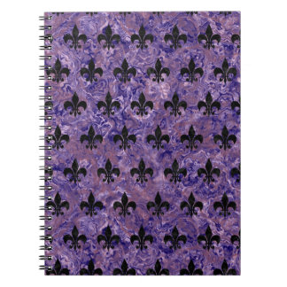 ROYAL1 BLACK MARBLE & PURPLE MARBLE NOTEBOOKS