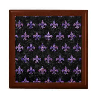 ROYAL1 BLACK MARBLE & PURPLE MARBLE (R) GIFT BOX