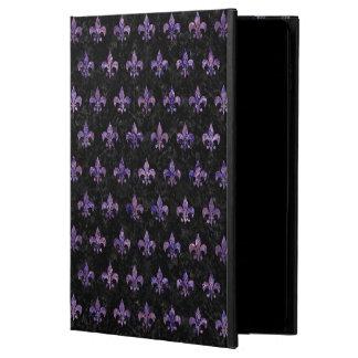 ROYAL1 BLACK MARBLE & PURPLE MARBLE (R) POWIS iPad AIR 2 CASE