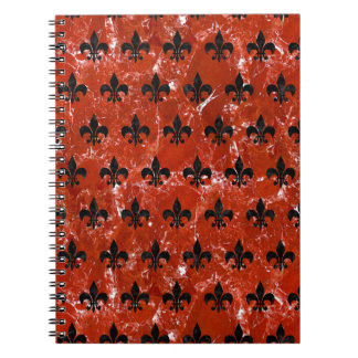 ROYAL1 BLACK MARBLE & RED MARBLE NOTEBOOKS