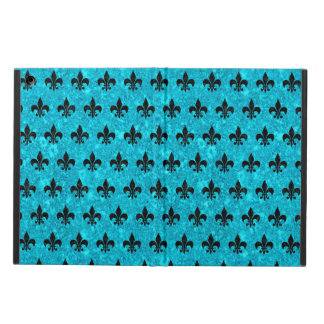 ROYAL1 BLACK MARBLE & TURQUOISE MARBLE iPad AIR COVER