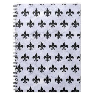 ROYAL1 BLACK MARBLE & WHITE MARBLE NOTEBOOKS