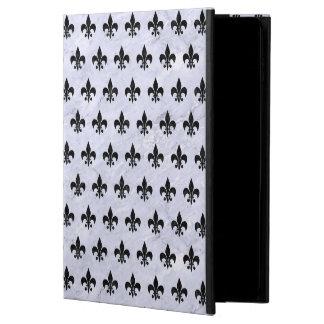 ROYAL1 BLACK MARBLE & WHITE MARBLE POWIS iPad AIR 2 CASE