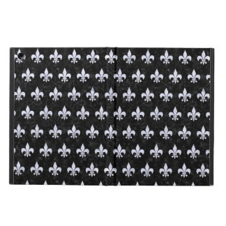 ROYAL1 BLACK MARBLE & WHITE MARBLE (R) iPad AIR COVER